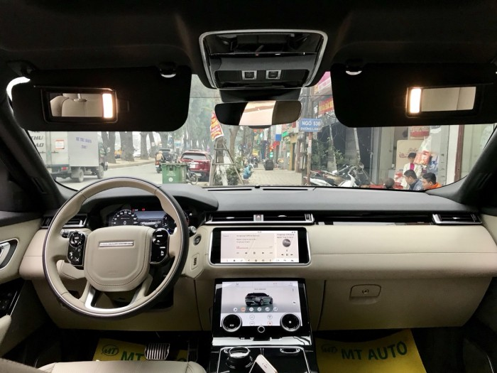 Bán xe LandRover Range Rover Velar P250 se R-Dynamic sản xuất 2018, màu xám, nhập khẩu 26