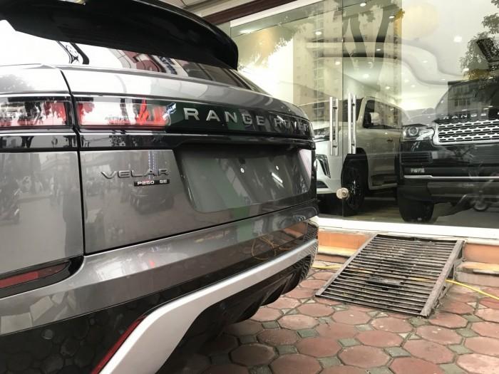 Bán xe LandRover Range Rover Velar P250 se R-Dynamic sản xuất 2018, màu xám, nhập khẩu 10