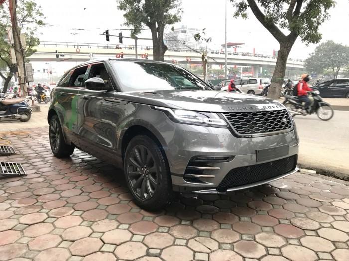 Bán xe LandRover Range Rover Velar P250 se R-Dynamic sản xuất 2018, màu xám, nhập khẩu 11