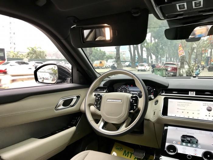 Bán xe LandRover Range Rover Velar P250 se R-Dynamic sản xuất 2018, màu xám, nhập khẩu 4