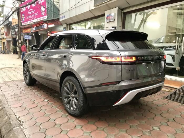Bán xe LandRover Range Rover Velar P250 se R-Dynamic sản xuất 2018, màu xám, nhập khẩu 9