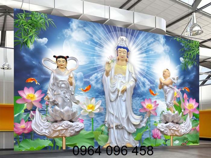 Tranh phật 3d tôn giáo - gạch tranh ốp tường8