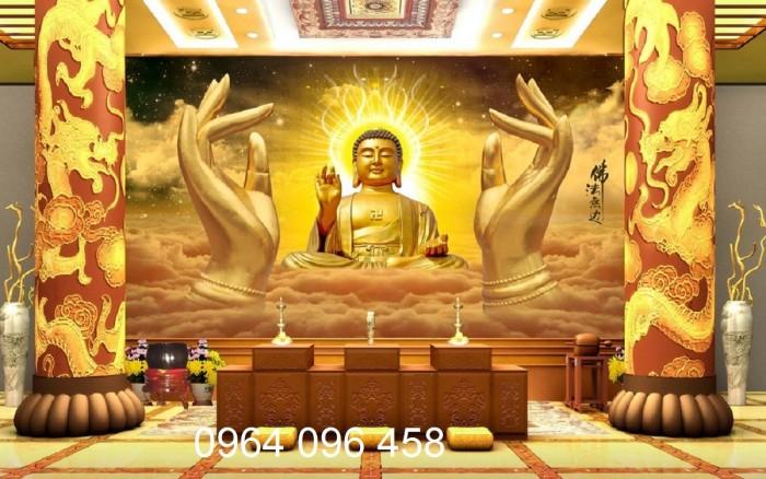 Tranh phật 3d tôn giáo - gạch tranh ốp tường5