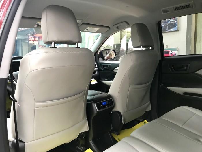 Bán Toyota Highlander sản xuất 2018, màu đỏ, xe nhập Mỹ biển HN 21