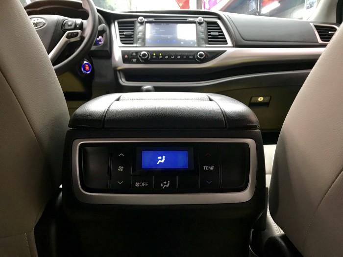 Bán Toyota Highlander sản xuất 2018, màu đỏ, xe nhập Mỹ biển HN 18
