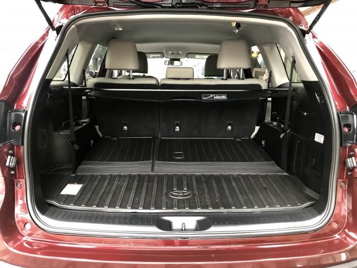Bán Toyota Highlander sản xuất 2018, màu đỏ, xe nhập Mỹ biển HN 17