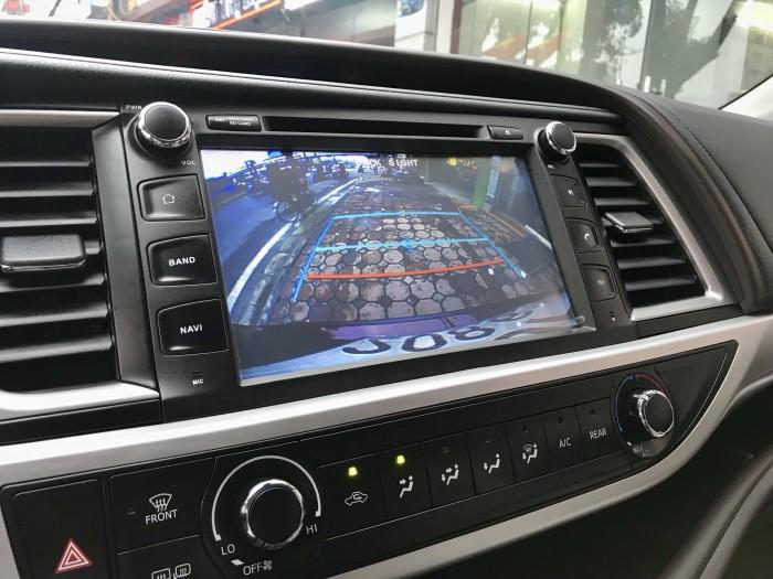 Bán Toyota Highlander sản xuất 2018, màu đỏ, xe nhập Mỹ biển HN 13