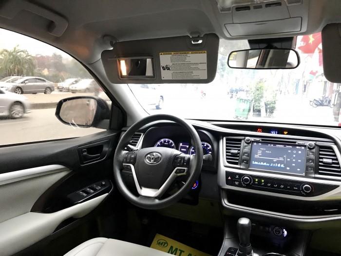 Bán Toyota Highlander sản xuất 2018, màu đỏ, xe nhập Mỹ biển HN 12