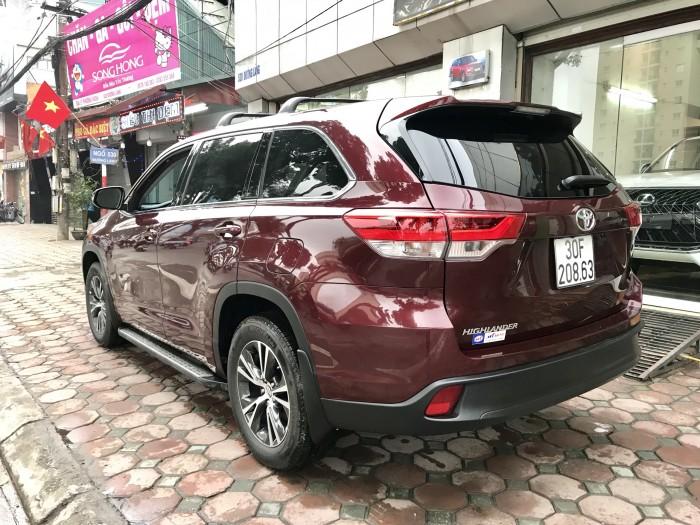 Bán Toyota Highlander sản xuất 2018, màu đỏ, xe nhập Mỹ biển HN 3