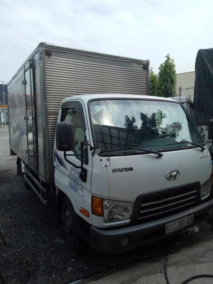 HD65 hạ tải cũ dưới 5 tấn chạy tp sx 2014 thùng kín có chiều cao 2