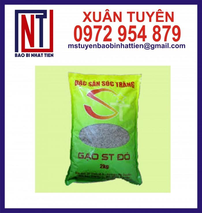 Bao bì gạo ghép màng phức hợp 1kg, 2kg, 5kg30
