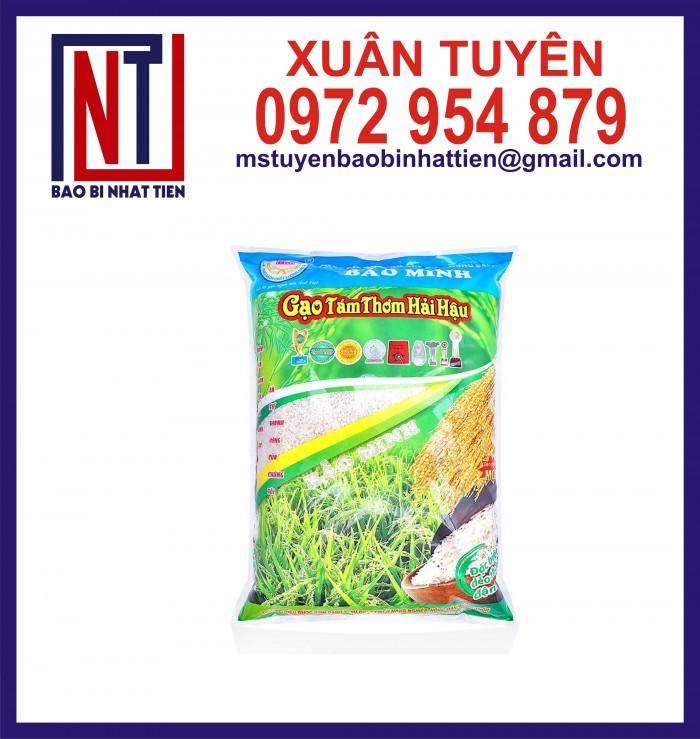 Bao bì gạo ghép màng phức hợp 1kg, 2kg, 5kg10