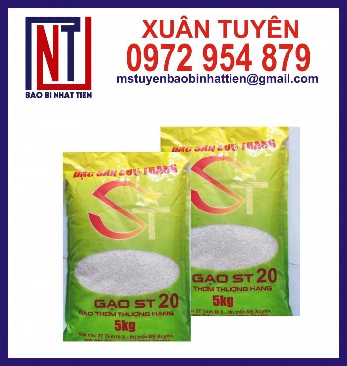 Bao bì gạo ghép màng phức hợp 1kg, 2kg, 5kg1