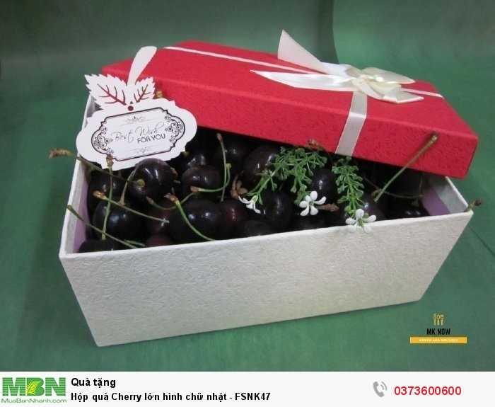 Hộp quà Cherry - quà tặng sinh nhật người yêu từ MKnow0
