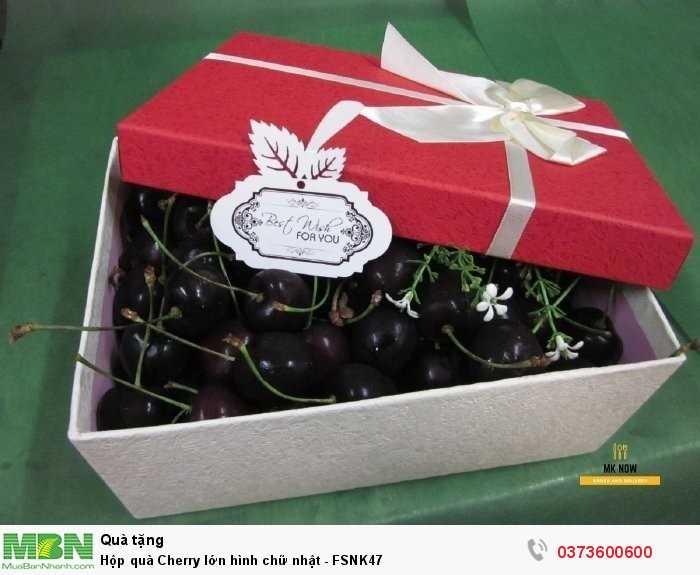 Hộp quà Cherry - quà tặng sinh nhật bạn gái từ MKnow1