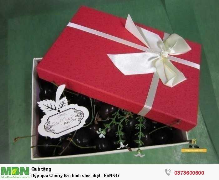 Hộp quà Cherry - hộp quà Valentine ý nghĩa tặng người yêu từ MKnow3