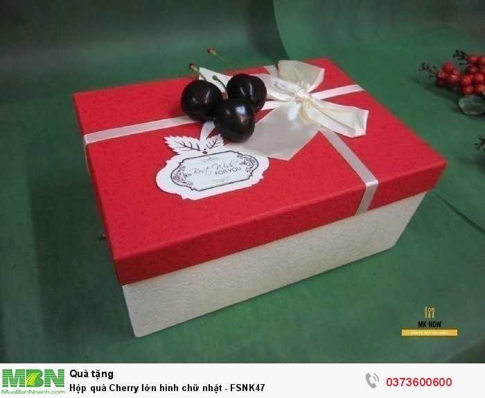 Hộp quà Cherry - hộp quà trái cây nhập khẩu cao cấp từ MKnow5