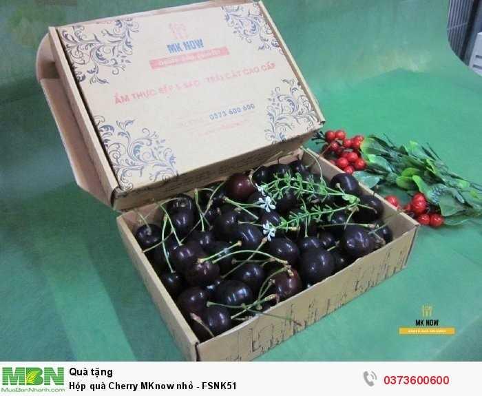 Hộp quà Cherry MKnow nhỏ - FSNK510