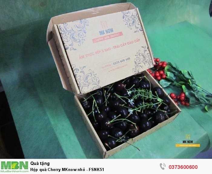 Đặt Hộp quà Cherry MKnow nhỏ - FSNK511