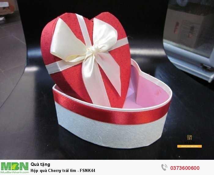 Hộp quà tặng trái cây - Cherry nhập khẩu tươi ngon