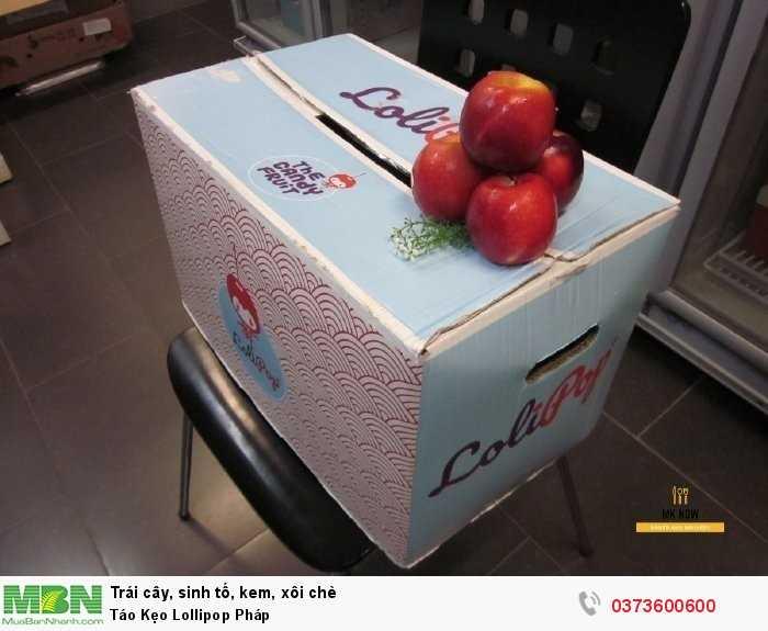 Thùng táo kẹo Lollipop Pháp4