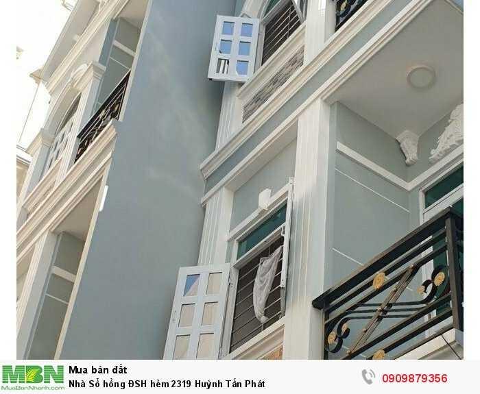 Nhà Sổ hồng ĐSH hẻm 2319 Huỳnh Tấn Phát