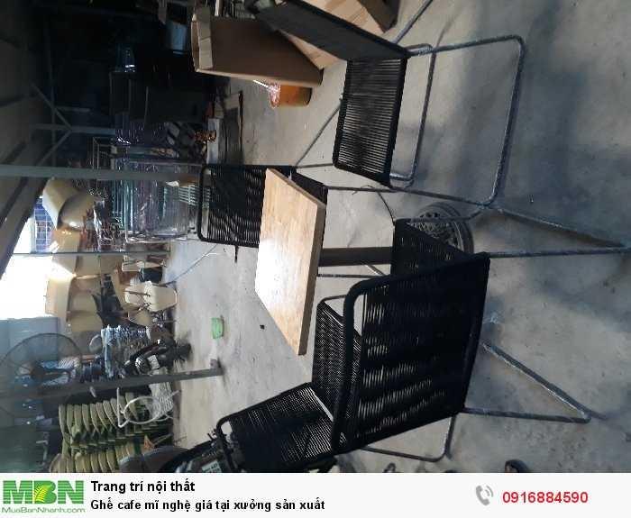 Ghế cafe mĩ nghệ giá tại xưởng sản xuất1