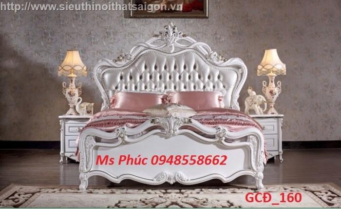 Tại sao 100.000 người lại ưa chuộng bộ giường ngủ cổ điển màu tự nhiên ms 271 này?1