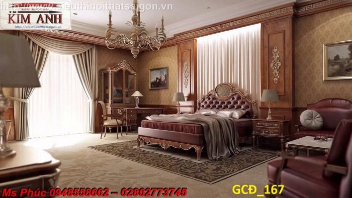 Tại sao 100.000 người lại ưa chuộng bộ giường ngủ cổ điển màu tự nhiên ms 271 này?10