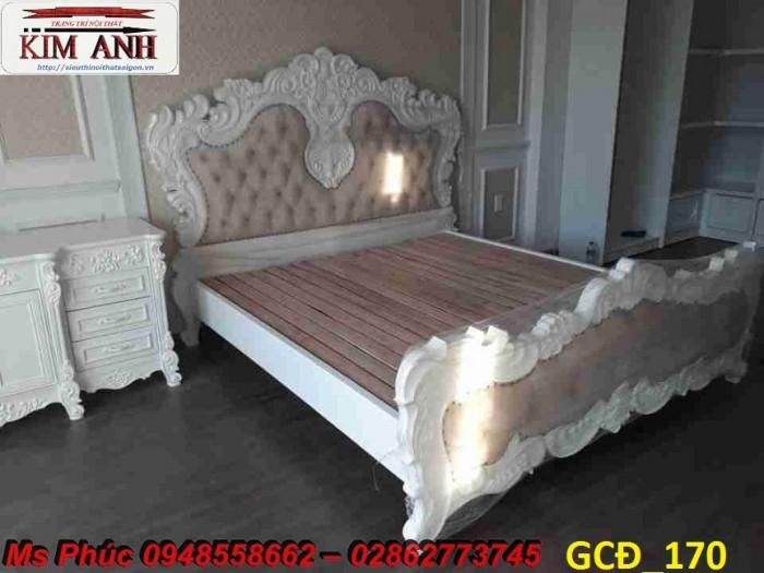 giường ngủ tân cổ điển cao cấp Thủ Dầu Một12