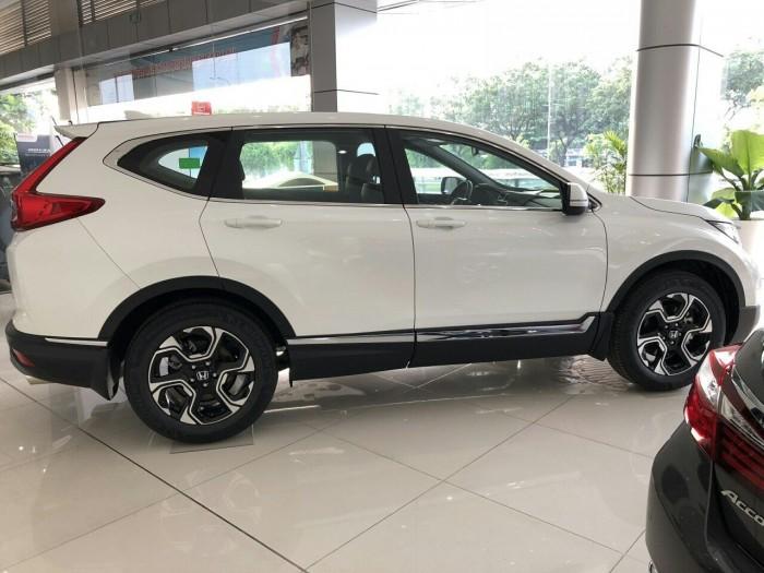 Honda Crv Màu Trắng 180 Triệu Nhận Xe + Bảo Hiểm/Camera/Phim 7