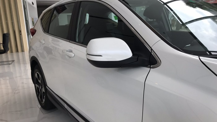 Honda Crv Màu Trắng 180 Triệu Nhận Xe + Bảo Hiểm/Camera/Phim 5