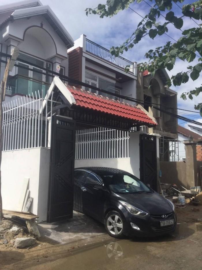 Bán 2 căn nhà đẹp mới xây mặt tiền gò cây sung