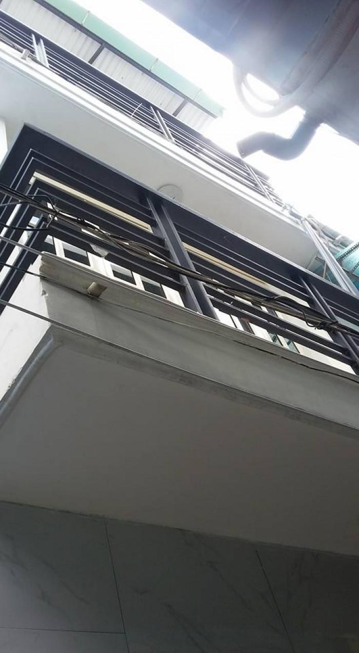 Nhà bán đường Huỳnh Văn Nghệ,p12 Gò vấp ,dt .3x6 đúc 1 trệt ,2 lầu