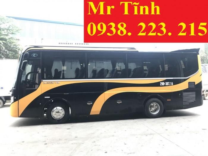 Bán xe 29 chỗ Tb79s Thaco Garden-29 chỗ Bầu Hơi Thaco Tb79s 2019 24