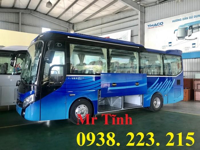 Bán xe 29 chỗ Tb79s Thaco Garden-29 chỗ Bầu Hơi Thaco Tb79s 2019