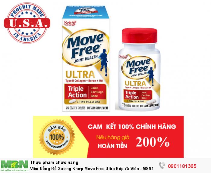 Viên Uống Bổ Xương Khớp Move Free Ultra Hộp 75 Viên - MSN18311284