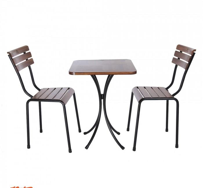 Bàn ghế gổ quán nhậu giá rẻ tại xưởng sản xuất HGH 6600