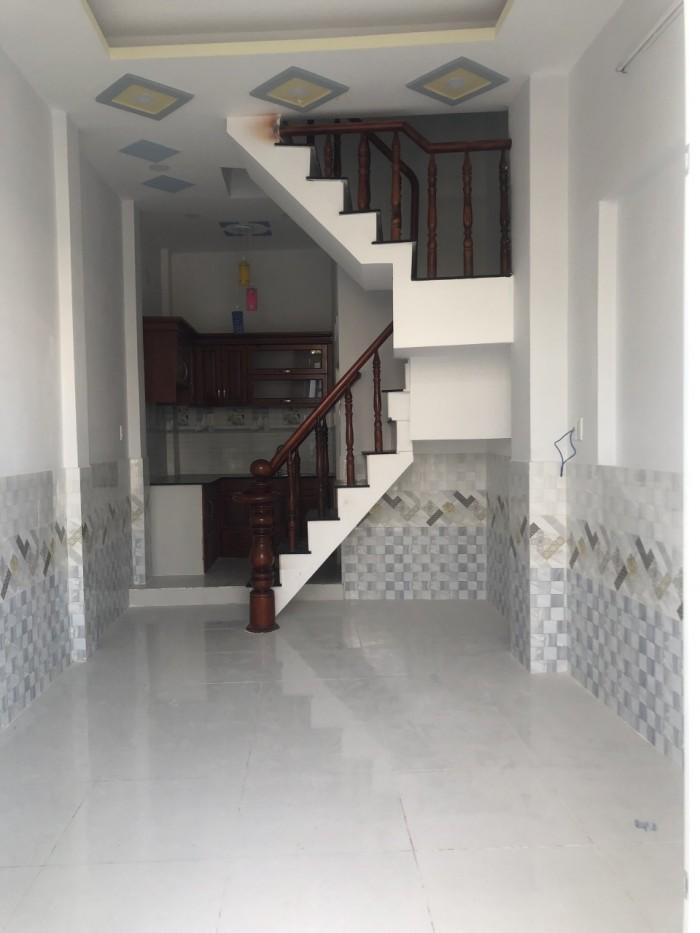 Bán nhà mới xây thiết kế đẹp, 1 trệt, 2 lầu (Bình Hưng Hòa B, Bình Tân)