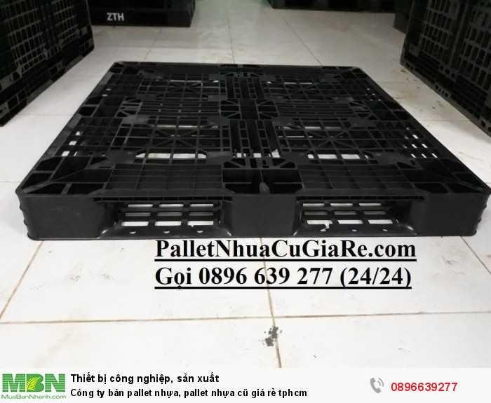 Công ty bán pallet nhựa, pallet nhựa cũ giá rẻ tphcm - Gọi 0896639277 (24/24)0