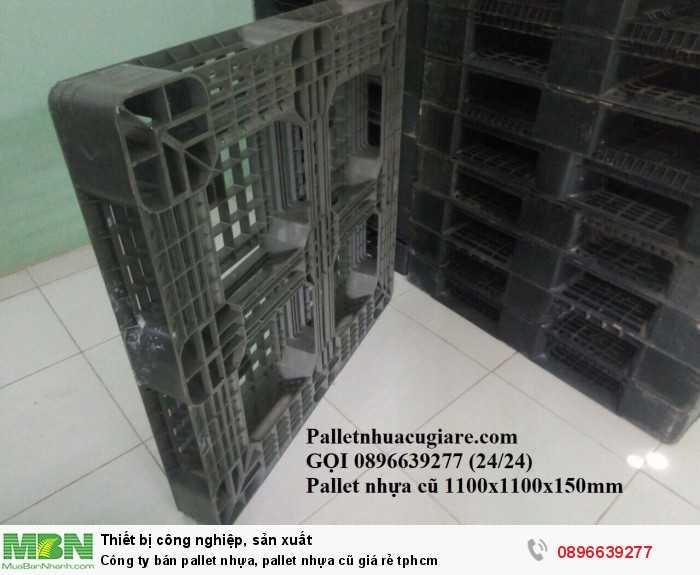 Công ty mua bán pallet nhựa, pallet nhựa cũ giá rẻ tphcm - Gọi 0896639277 (24/24)2