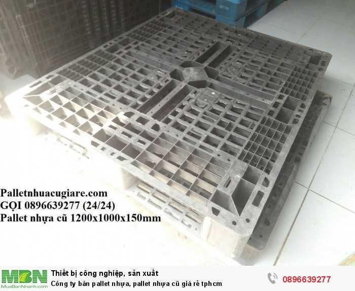 Công ty bán pallet nhựa, pallet nhựa cũ giá rẻ tphcm - Gọi 0896639277 (24/24)4