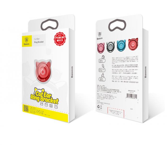 Giá Đỡ Hít Điện Thoại Iring Cao Cấp Cute Cat Ear Ring15