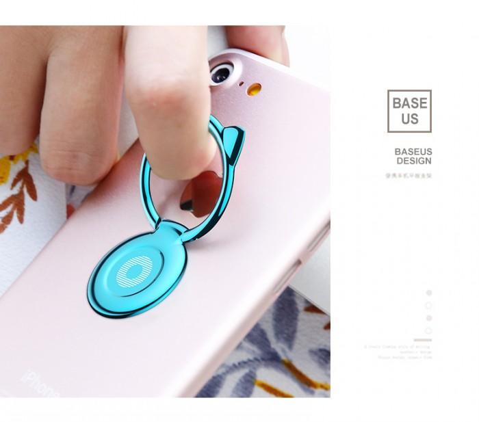 Giá Đỡ Hít Điện Thoại Iring Cao Cấp Cute Cat Ear Ring12