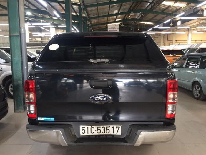 Ranger XL, 2014, 4x4, số sàn, màu đen, xe công ty xuất hóa đơn