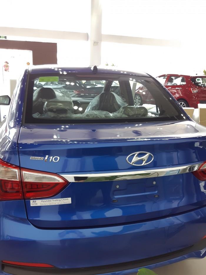 Hyundai Grand i10 sedan 1.2 AT, đầy đủ các màu, hỗ trợ trả góp tối ưu, quà tặng hấp dẫn 0