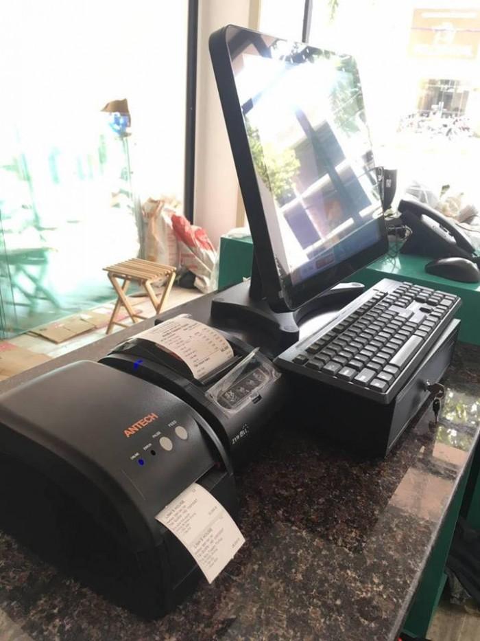 Bán Máy tính tiền Cảm Ứng, Máy in bill, Máy in tem cho Quán Trà Sữa tại Thủ Đức Bình Thạnh4