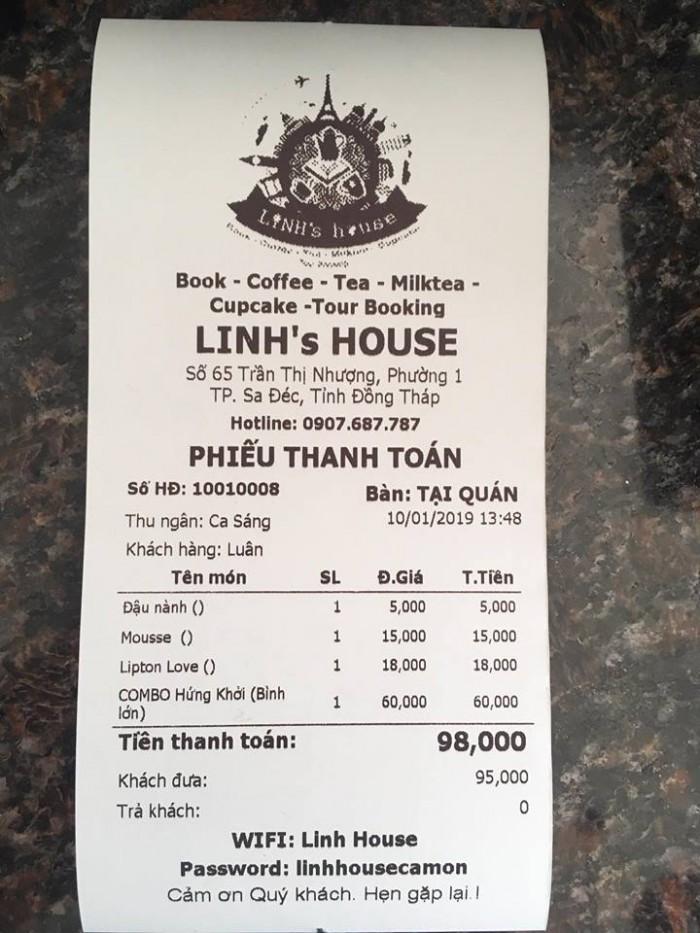 Bán Máy tính tiền Cảm Ứng, Máy in bill, Máy in tem cho Quán Trà Sữa tại Thủ Đức Bình Thạnh0