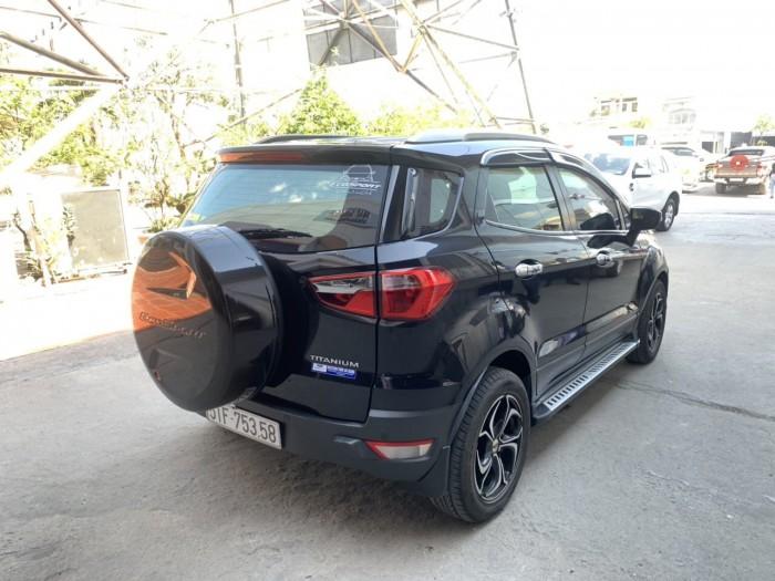 Bán Ford Ecosport sx 2k16 titanium màu đen 8