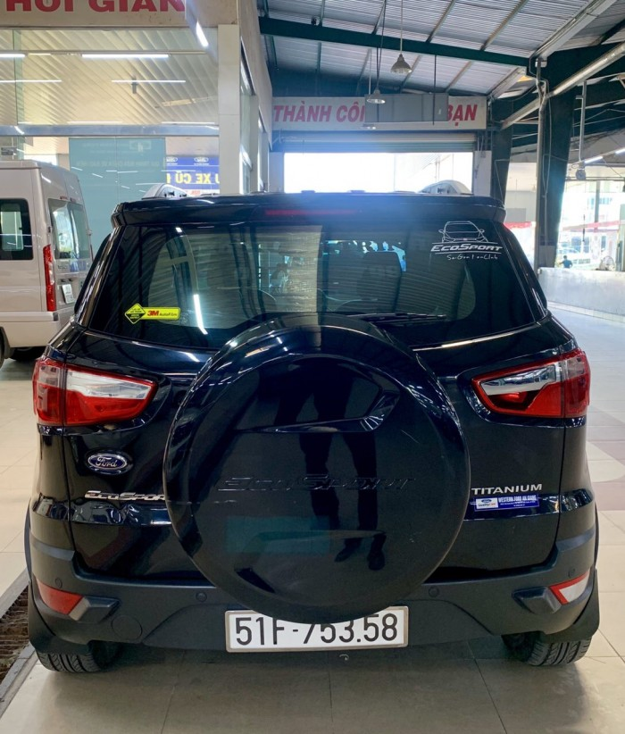 Bán Ford Ecosport sx 2k16 titanium màu đen 1